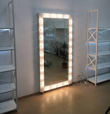 full length mirror with led hollywood