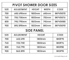 minimum standard shower width stall door height code bathroom charming size