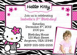 custom hello kitty birthday party invitations birthdays custom hello kitty birthday party invitations