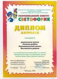 Наши достижения Диплом лауреата за качественную организацию работы по созданию образовательной среды способствующей лучшему усвоению детьми ПДД