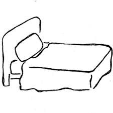 bed clipart black and white. Modren Clipart For Bed Clipart Black And White B