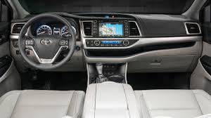 Gallery 2017 Toyota Highlander XLE interior   Autoweek