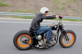 cruisin bobber style i gotta say although i have no love for