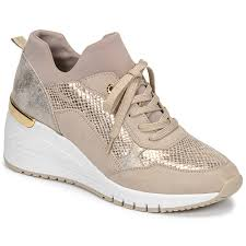 Check spelling or type a new query. Marco Tozzi Muniska Beige Chaussure Pas Cher Avec Shoes Fr Chaussures Baskets Basses Femme 42 00