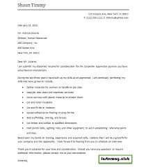 Construction Apprentice Carpenter Cover Letter 1 Handplane Goodness