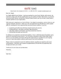 Cover Letter For Community Service Community Service Worker Cover Letter Support Sample