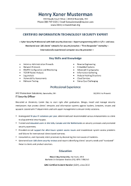22 Lovely Cyber Security Resume | Vegetaful.com