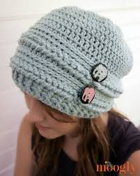 Hipster Beanie Crochet Pattern Enchanting Ups And Downs Slouchy Beanie FREE Crochet Pattern