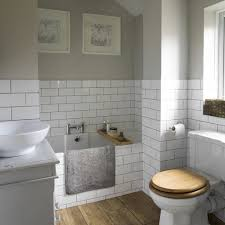 cleaning bathroom tile. Grey Wall Color With Elegant Brick White Tiles Using Excellent Tile Floor For Small Classic Bathroom Ideas Cleaning