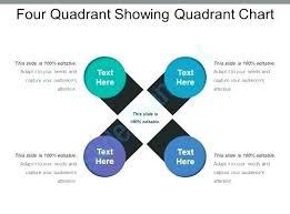Four Square Chart Template Four Quadrant Showing Chart Template Free Quadrant Chart