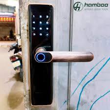 Lắp đặt khóa thông minh HSF003 cho nhà dân tại Bạch Đằng, Hoàn Kiếm, Hà Nội