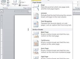 Ms Word Header Accommodate Different Headers And Footers In A Word Document