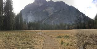 outdoor nature mountains. Empty Yosemite After Hiking Off Trail #hiking #camping #outdoors #nature #travel Outdoor Nature Mountains