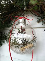Decorating Clear Christmas Balls Custom 32 DIY Crafts Featuring The Simple Christmas Ball Ornament