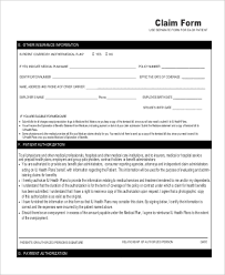 Medicare Claim Form