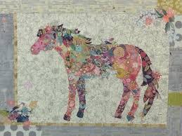 Confetti Horse Collage Quilt Kit &  Adamdwight.com
