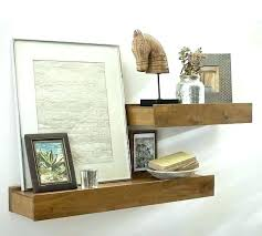 Mango Floating Shelves Best Dark Wooden Floating Shelves Shelf Timber Reclaimed Chunky Wood