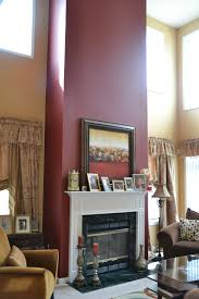 burgendy accent wall burdy accent wall in living room for the home walls room and living rooms