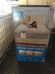 novaform 14 comfort grande queen gel memory foam mattress. costco has two sizes, they have a queen and king mattress. i got one mattress first decided to risk it. the cost in total for novaform 14 comfort grande gel memory foam
