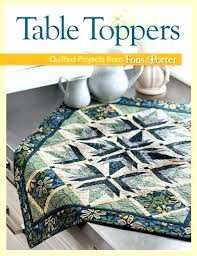 round table topper toppers patterns