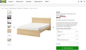 ikea malm king size bed furniture