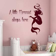 Mermaid Bedroom Decor Online Buy Wholesale Mermaid Bedroom Decor From China Mermaid
