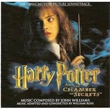 harry potter and the chamber of secrets soundtrack john williams cd cover