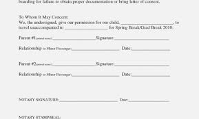 This Is How Travel Consent Form And Resume Template Ideas