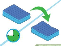 3 Ways to Patch a Leak in an Air Mattress - wikiHow