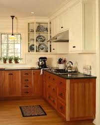 how to paint stained kitchen cabinets stained lower cabinets painted upper cabinets mixed upper and lower