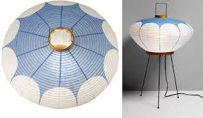 isamu noguchi lighting. Standing Blue Lamp By Isamu Noguchi, 1952 Noguchi Lighting P