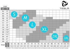Tesla Size Chart Tsla Tesla Mus17 Cool Dry Baselayer Sport Compression Shorts