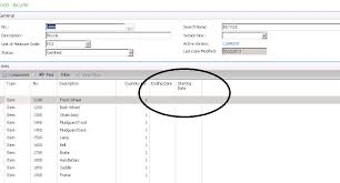 Phasing In Ecn For Bill Of Material Changes In Microsoft Dynamics ...