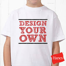 Make Your On Shirt Design Your Own Custom Kids T Shirts