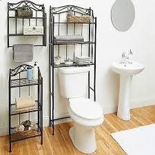 bathroom wall storage shelf organizer