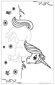 Unicorno Scaricare Gratis Disegni Da Colorare Per Bambini