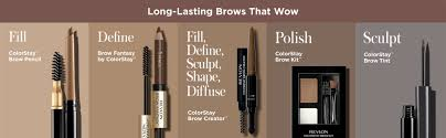 a customizable eyebrow look to go from natural to bold