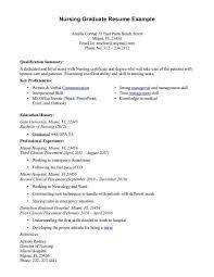 Sample Rn Resume New Grad Relationship Manager Resume