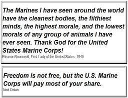 Eleanor Roosevelt Quotes Marines Magnificent Eleanor Roosevelt Quotes Marines Glamorous Quoteeleanor Roosevelt