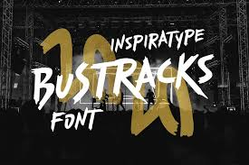 The home of free fonts since 1998. Bustracks Free Font 1001 Fonts