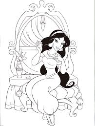 Jasmine coloring images big collection coloring, disney beautiful princess jasmine coloring netart, jasmine in wedding dress disney princess click on the coloring page to open in a new window and print. Jasmine Princess Coloring Pages Disney Princess Coloring Pages Cinderella Coloring Pages