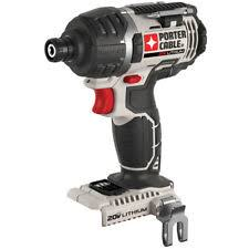 porter cable power tools. porter-cable 20-volt lithium ion 1/4-in cordless variable speed porter cable power tools
