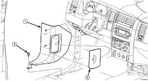 where is the amplifier located at in the 2007 chrysler aspen with 2008 chrysler aspen radio wiring diagram 2008 Chrysler Aspen Fuse Diagram #17