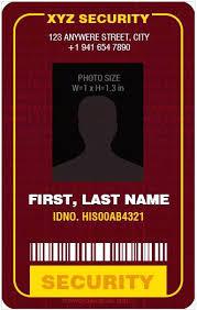 security guard badge template. security id badge template gocreatorco