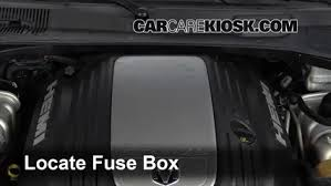 blown fuse check 2006 2010 dodge charger 2006 dodge charger srt8 locate engine fuse box and remove cover