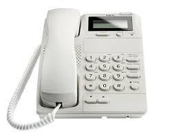 og caller id phones at 55 at 50 nec