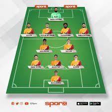 Galatasaray 11'i - İlk 11 oluşturmanın en kolay yolu - Sporx