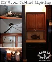 upper cabinet lighting. DIY Upper Cabinet Lighting R
