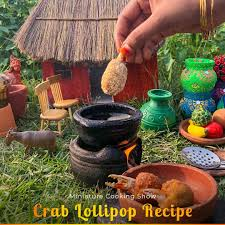 Crab lollipop Recipe 🍭 In Miniature ...