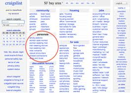 craigslist personals ociated with 16 percent boost in hiv infections